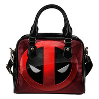 Deadpool Leather Shoulder Handbag