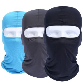 Lycra Elastic Balaclava Full Face Mask Hats Cap Tactical Airsoft Military Army Bicycle Helmet Protection Windproof
