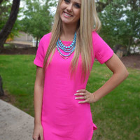 Bright Eyes Dress - Pink
