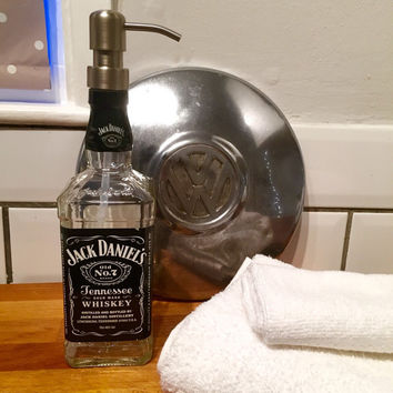 Fathers Day Gift Jack Daniels Soap Dispenser