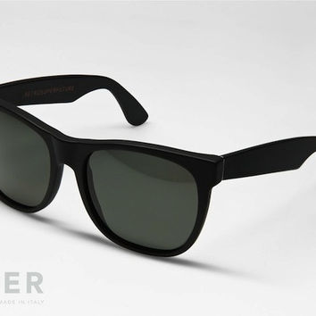retroSUPERfuture Classic Matte Black Sunglasses