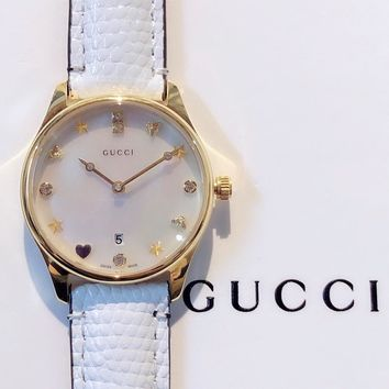 Gucci Ladies Men Women Quartz Watches Business Wrist Watch