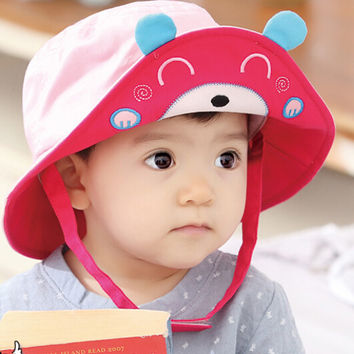 Baby Fisherman Cap Comfortable Hot Summer Gift 48