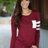 Tailgates and Touchdowns Pocket Tee