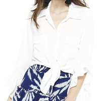 Maryn Ruffle Sleeve Shirt