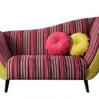 Retro To Go: Stripy Chaise Longue