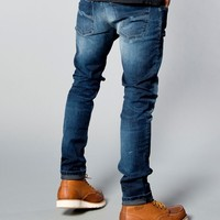 Tight Long John Organic Blue Dot - Nudie Jeans Co Online Shop
