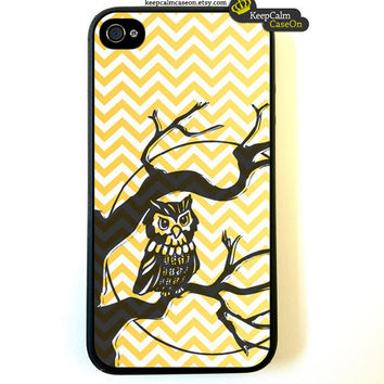 iPhone 4 Case Own On Chevron iPhone 4S Case by KeepCalmCaseOn