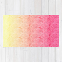 Gradient #1 Rug by Haleyivers