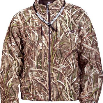 MST Windproof Fleece Layering Coat - CAMO DRAKE waterfowl systems