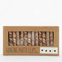 Floral Photo Clip String Set