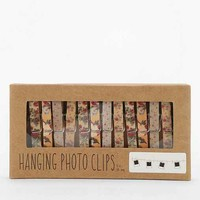 Floral Photo Clips String Set