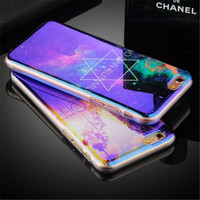Blu-ray Diamond Soft TPU Cell Protect Phone case back cover For iPhone 6 6s 6plus 6s plus 7 7plus 5s 5 SE cases glitter coque