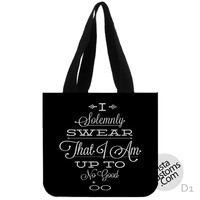 I Solemnly Swear Harry Potter New Hot, handmade bag, canvas bag, tote bag