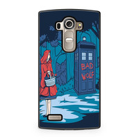 Little Red Riding Hood Tardis LG G4 case