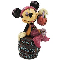 Jim Shore BOO CANEERS Stone Resin Minnie Halloween 4027937
