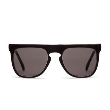 Komono Bennet Black Transparent Sunglasses