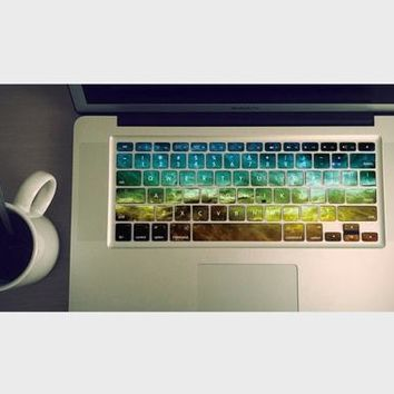 Nebula Macbook Keyboard Decal by airShopp