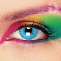 iD Lenses Solar Blue Coloured Contacts