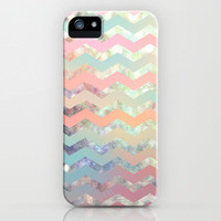 New World Chevron Pastel iPhone & iPod Case by Sandra Arduini