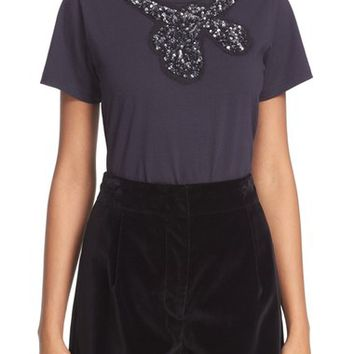 MARC JACOBS Embellished Cotton Tee | Nordstrom