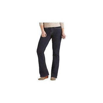 Signature By Levi Strauss & Co Women's Curvy Bootcut Jeans, 20M, Midnight