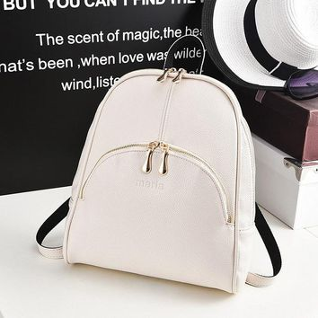 Teenagers Casual Leather Softback Bags