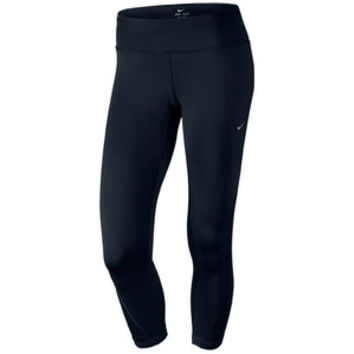 Nike Women's Dri-FIT Racer Crop Running Tights, Black