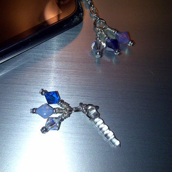 Simply Swarovski Cell Phone Dust Plug