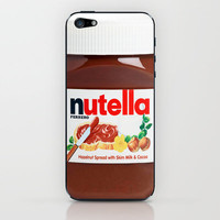 Nutella iPhone & iPod Skin by Nicklas Gustafsson | Society6