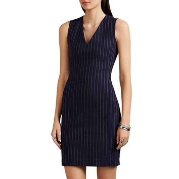 Rag & Bone Lexi Pinstriped Dress