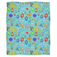 Zelda Items Blanket | Blankets, Fleece Blankets and Throws | HUMAN