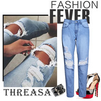 Women's Fashion Denim = 4815108036