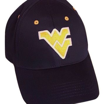 West Virginia Mountaineers Cap Adjustable Logo Hat NCAA Headwear