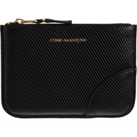 Comme des Garçons Luxury Leather Small Zip Pouch at Barneys New York at Barneys.com