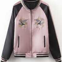 Women's Embroidered Detail Jacket