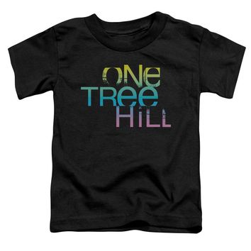 One Tree Hill - Color Blend Logo Short Sleeve Toddler Tee