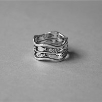 Personalised Fish Ring, Sterling Silver Fish Ring,Fish Jewelry,Animal Jewelry,custom made ring,gift for her,cute ring,sea ring,fish jewelry