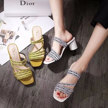 """Dior"" new stylish ladies sandals"