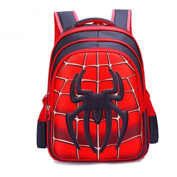 Spider-Man 3d Children's Backpack
