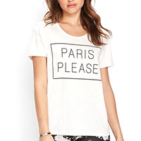 Paris Please Tee