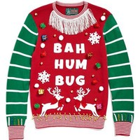 Ugly Christmas Sweater 'Make Your Own - White Stripe' Sweater Kit | Nordstrom