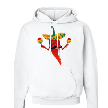 Red Hot Mexican Chili Pepper Hoodie Sweatshirt