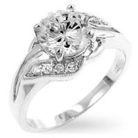 Elegant Engagement Ring, size : 09