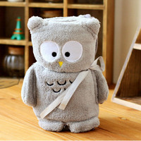 Cute Cartoon Sleeping Blanket Infant Baby Swaddle Kids Girl Boy Bath Shower Wrap