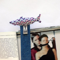 "Bookmark ""wave-fish"" FREE SHIPPING"