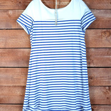 Sailing to Paris Dress