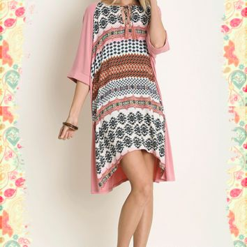 Tribal T Dress
