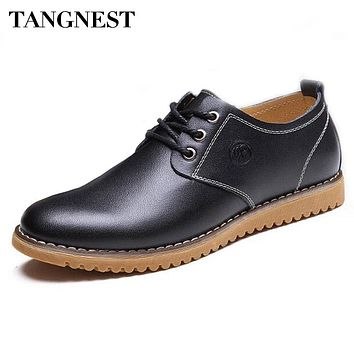 Tangnest Men's Business Casual Oxford Dress Shoe