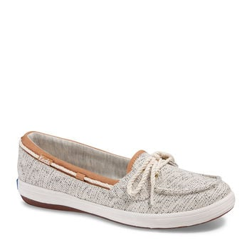 Keds Glimmer Salt & Pepper Boat Shoes